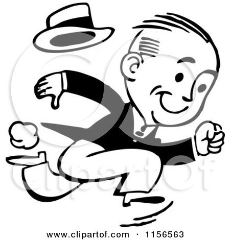 Preview Clipart Run Clip Art Black And White