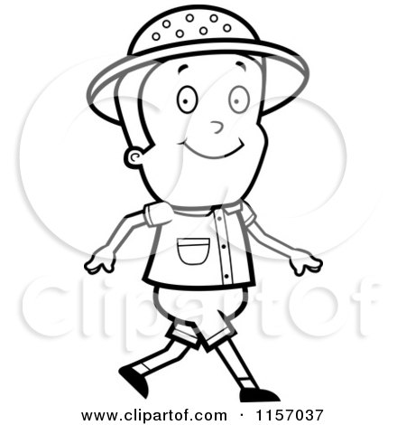 safari people coloring pages - photo#38