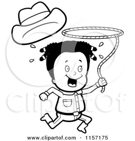 Cartoon Clipart Of A  - Vector Outlined Coloring Page by Cory Thoman