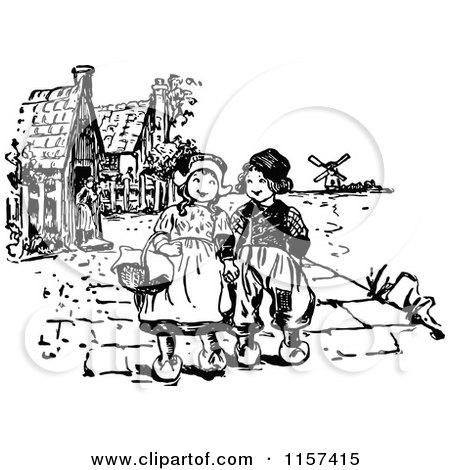 Royalty-Free (RF) Dutch Children Clipart, Illustrations, Vector ...