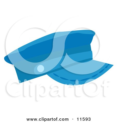 Blue Hat Clipart Picture by AtStockIllustration