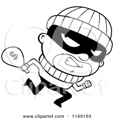 robber coloring pages - photo#49