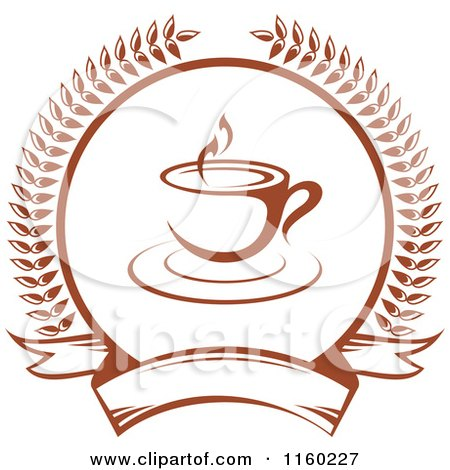 Royalty-Free (RF) Cafe Logo Clipart, Illustrations, Vector Graphics #1