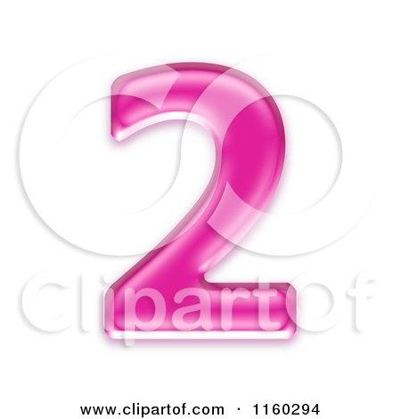 Pink Number 2 Clip Art   www.pixshark.com - Images ...
