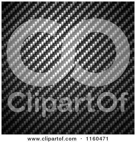 Clipart of a Carbon Fiber Background - Royalty Free CGI Illustration by Arena Creative