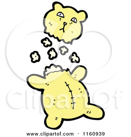 RoyaltyFree RF Stuffing Clipart
