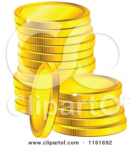 Royalty-Free (RF) Coin Clipart, Illustrations, Vector Graphics #1