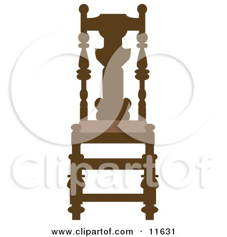Brown Wood Chair Posters, Art Prints
