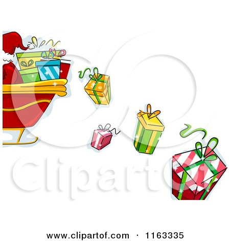 Clipart Santa Claus Writing In His Christmas Planner