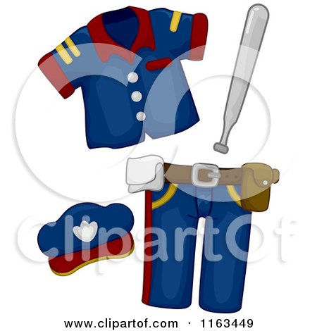 Royalty-Free (RF) Police Uniform Clipart, Illustrations, Vector ...