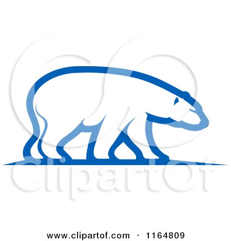 Clipart of a Polar Bear 3 - Royalty Free Vector Illustration by Vector Tradition SM