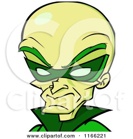 Cartoon of a Dr Naughty Villain Avatar - Royalty Free Vector Clipart by Cartoon Solutions