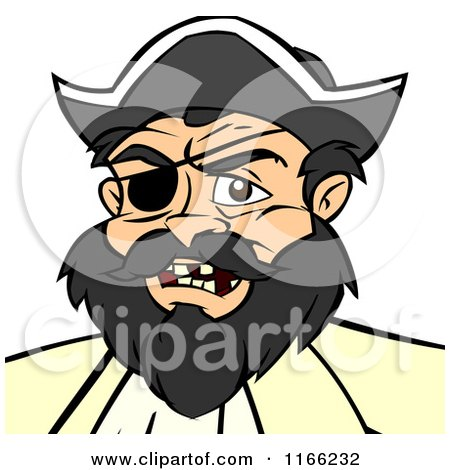 Cartoon of a Pirate Avatar - Royalty Free Vector Clipart by Cartoon Solutions