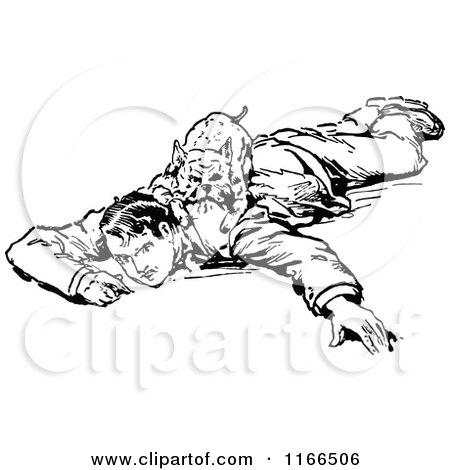 Royalty-Free (RF) Dog Attack Clipart, Illustrations ...