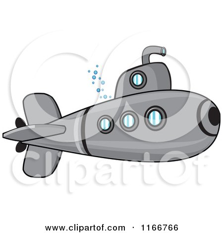 Royalty Free Rf Submarine Clipart Illustrations Vector