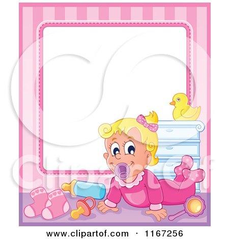 baby girl frame by visekart