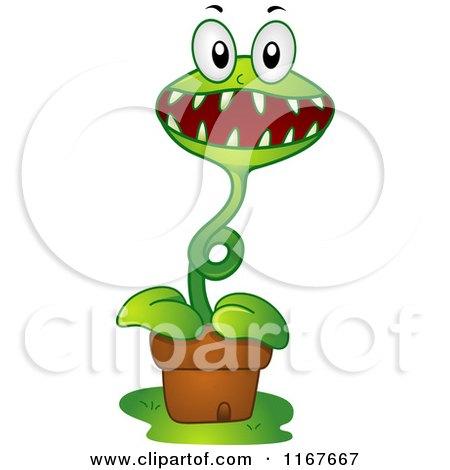 Royalty-Free (RF) Carnivorous Plant Clipart, Illustrations ...