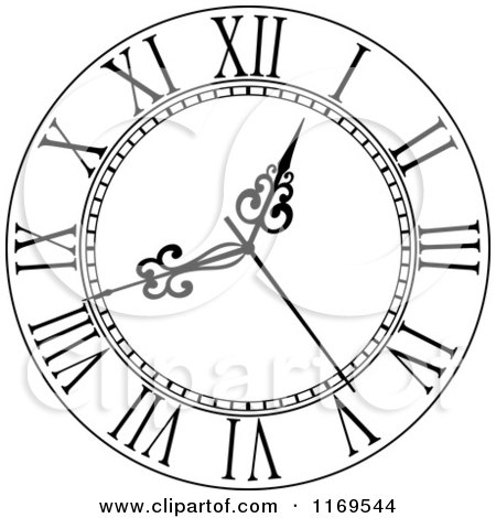 Black And White Wall Clock 5 1169544 on how to draw cartoon flowers