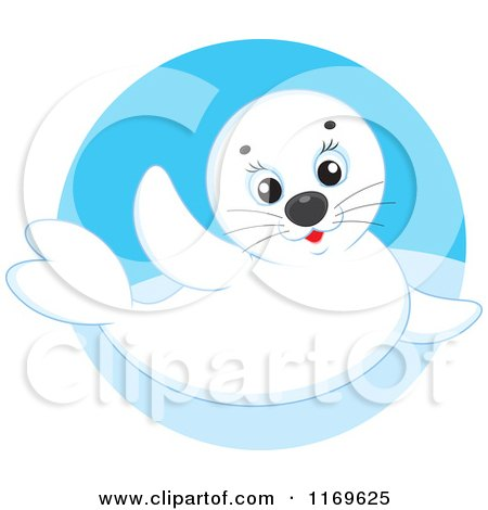 Royalty Free Rf Baby Seal Clipart Illustrations Vector