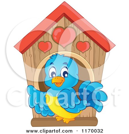 Royalty-Free (RF) Clipart of Bird Houses, Illustrations ...