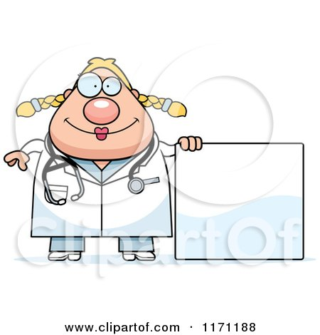 Cartoon of a Happy Female Surgeon Doctor or Veterinarian ...