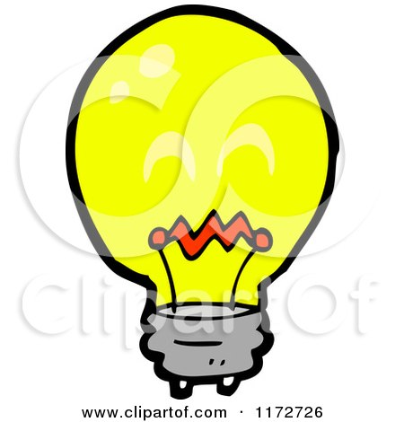 Cartoon Of A Hand Shooting Electricity Royalty Free