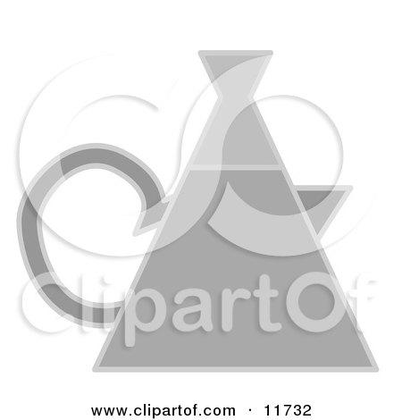 Tea Kettle Clipart Illustration by AtStockIllustration