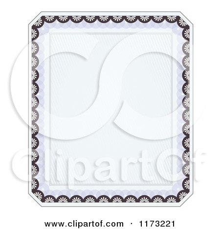 Royalty-Free (RF) Certificate Frame Clipart, Illustrations, Vector ...