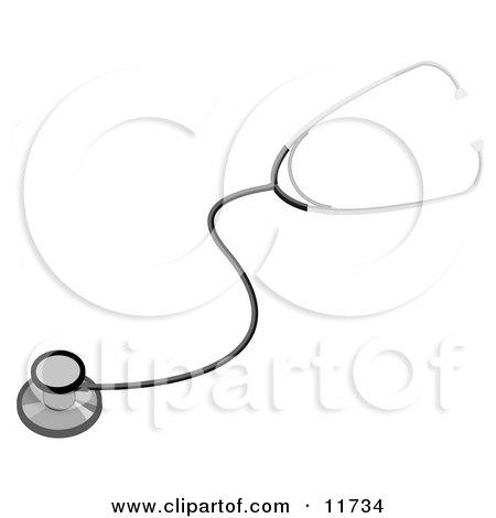 Medical Stethoscope Clipart Illustration by AtStockIllustration
