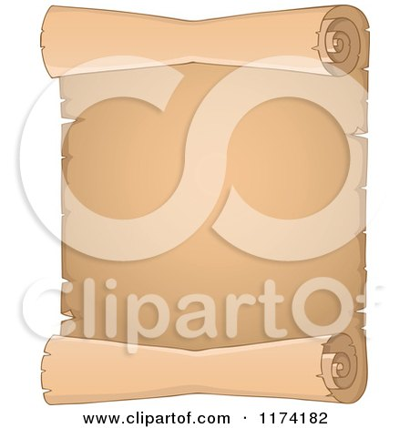 Royalty-Free (RF) Clipart Illustration of a Digital ...  Vertical Scrolls Clipart