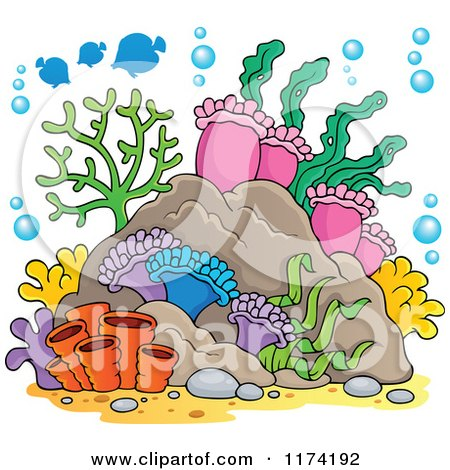 Royalty-Free (RF) Clipart of Corals, Illustrations, Vector Graphics #1