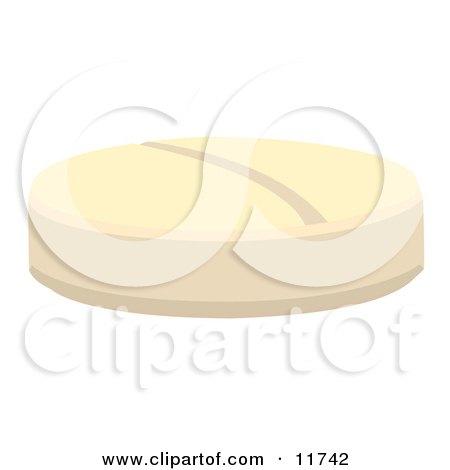 Birth Control Contraceptive or Aspirin Pill Clipart Illustration by AtStockIllustration