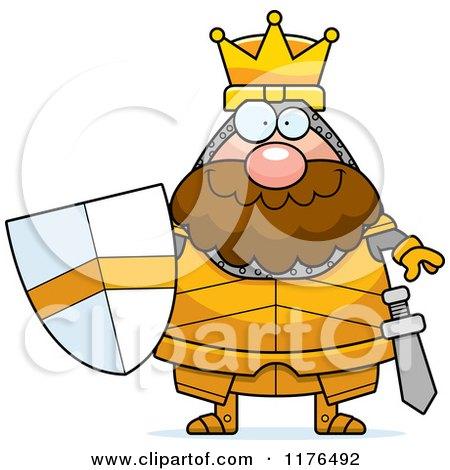Happy King Knight Posters, Art Prints