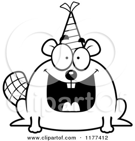 1177412-Cartoon-Of-A-Black-And-White-Happy-Birthday-Beaver-Wearing-A-Party-Hat-Royalty-Free-Vector-Clipart.jpg