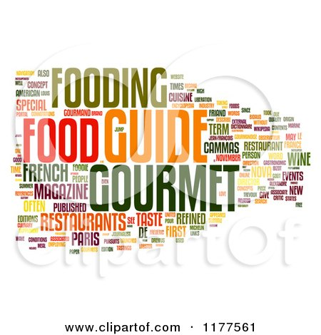 colorful gourmet food word collage on white posters  art free baby clip art images free baby clip art to copy