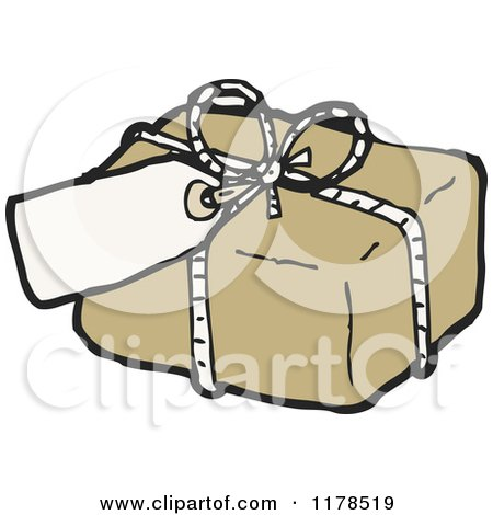 Cartoon of a Package Burning - Royalty Free Vector ... Package Clipart
