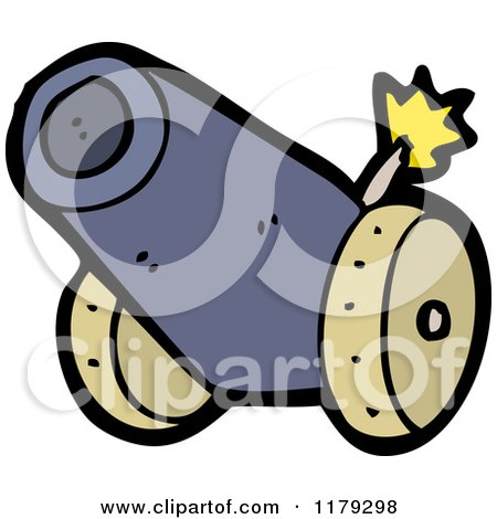 Royalty Free Rf Cannon Clipart Illustrations Vector