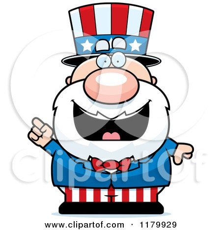 Royalty-Free (RF) Chubby Uncle Sam Clipart, Illustrations ...