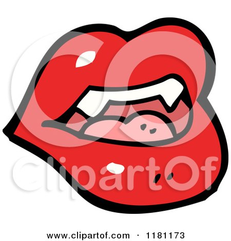Vampire Mouth Clipart