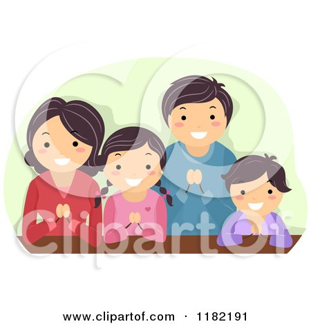 Family Praying Together Stock Illustrations – 125 Family Praying Together  Stock Illustrations, Vectors & Clipart - Dreamstime