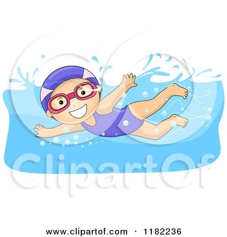 Royalty Free Swim Illustrations by BNP Design Studio Page 1  Little
