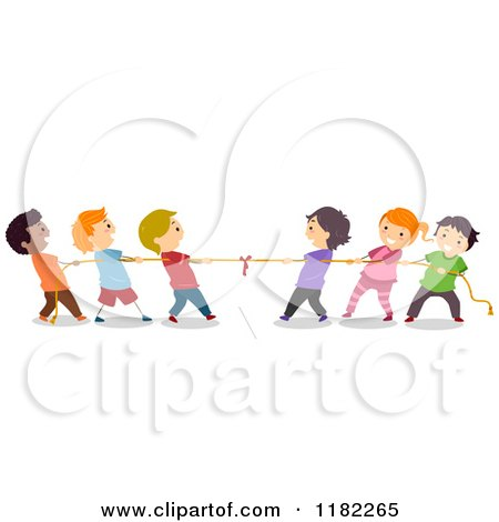 Royalty Free Tug Of War Illustrations by BNP Design Studio Page 1