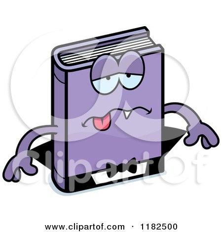 Cartoon of a Sick Horror Vampire Book Mascot - Royalty ...