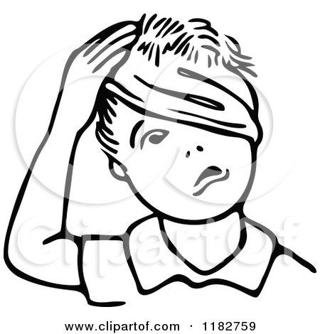 Royalty-Free (RF) Head Injury Clipart, Illustrations, Vector Graphics #1