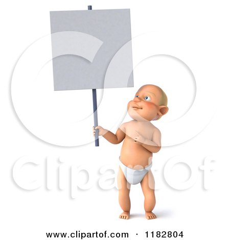 Royalty-Free (RF) Baby Sign Clipart, Illustrations, Vector Graphics #1