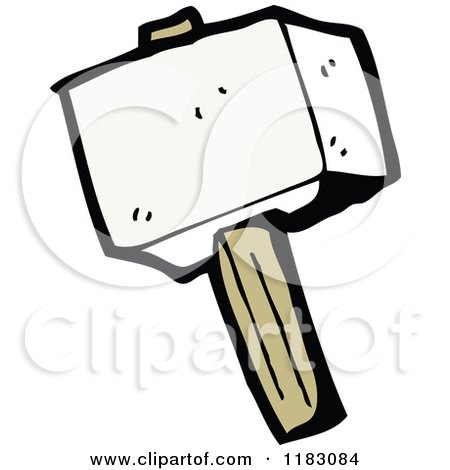 RoyaltyFree RF Thors Hammer Clipart Illustrations Vector Graphics 1