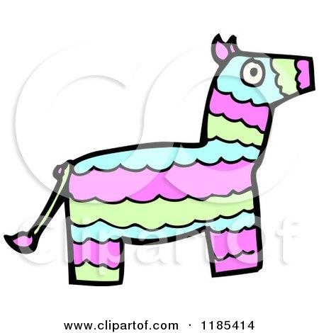 Donkey Pinata Clipart