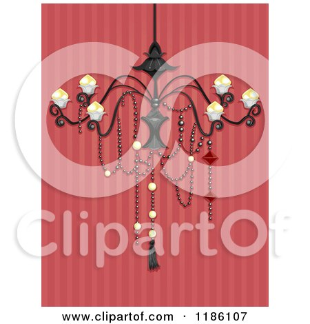 Royalty Free RF Chandelier Clipart Illustrations Vector Graphics 1