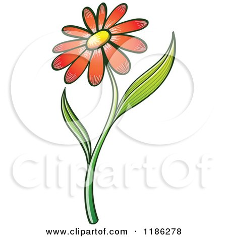Royalty-Free (RF) Daisy Flower Clipart, Illustrations, Vector ...