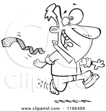 Excited Person Clip Art Black And White Cartoon of a black and whiteExcited Person Clip Art Black And White